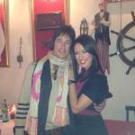 Claudia Borroni e Ronn Moss