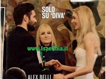 Alex belli l 39 album delle nozze segrete con katarina isa for Diva e donne