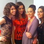 Francesca Cioffi, Gabriela Barrios e Guendalina Bianchetti