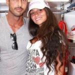 Francesca Cioffi e Fabrizio Corona