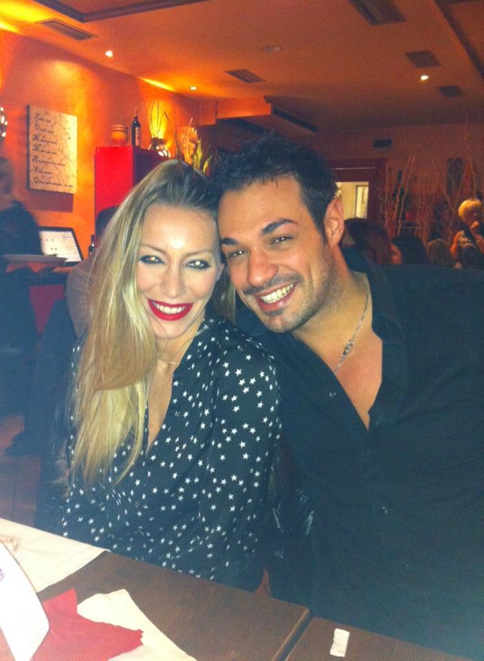 Leonardo Greco e Karina Cascella