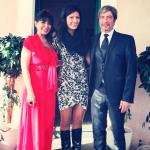 Orazio Catania e Monica Benetton