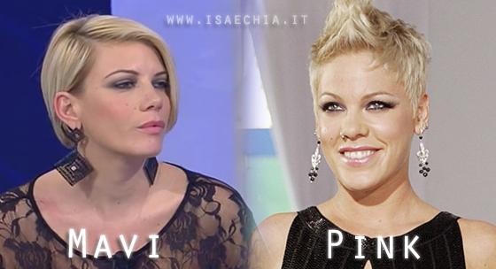 Somiglianza tra Marvi e Pink