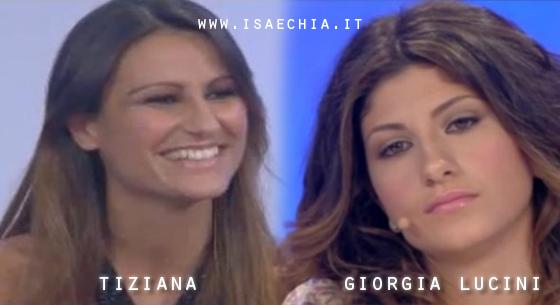 Somiglianza tra Tiziana Battaglia e Giorgia Lucini
