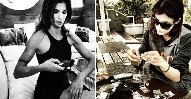 Elisabetta canalis diventa designer di gioielli foto isa e chia - Porcherie a letto ...