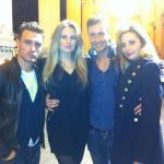 Marco Spagna, Vanessa Mancini, Angela Achilli e Filippo Savia