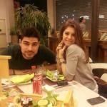 Ruben Mendes e Angela Semerano