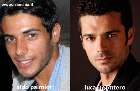 Somiglianza tra Aldo Palmieri e Luca Argentero