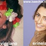 Somiglianza tra Jessica Viggiano ed Erinela Bitri