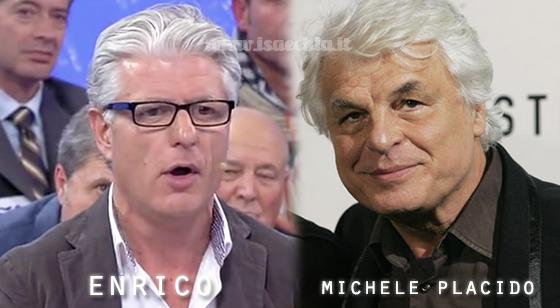 Somiglianza tra il cavaliere Enrico e Michele Placido