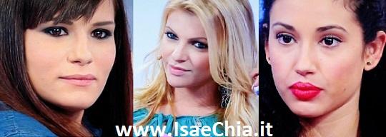 Claudia D'Agostino, Stefania Zappa e Gabriela Barrios