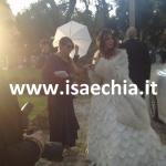 Eliana Michelazzo al matrimonio di Guendalina Tavassi e Umberto D'Aponte