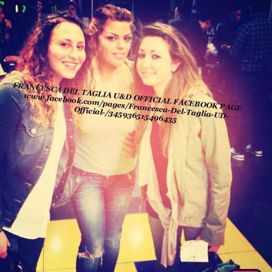 Francesca Del Taglia con le fans