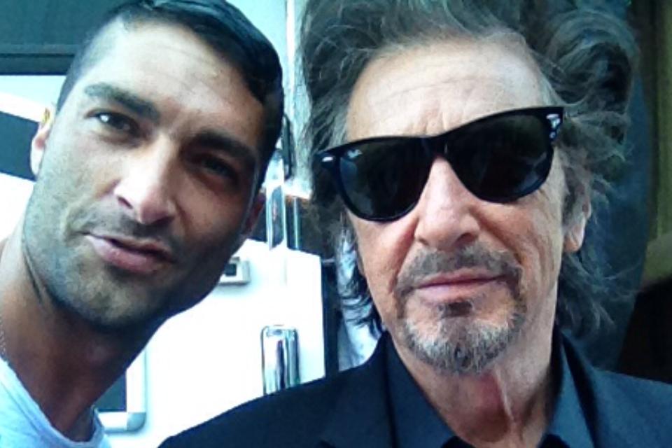Giorgio Alfieri e Al Pacino