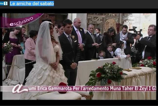 Il matrimonio di Guendalina Tavassi