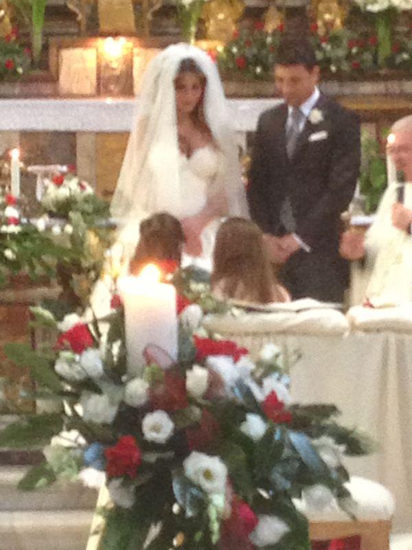 Guendalina Tavassi ed Umberto D'Aponte: le prime foto del matrimonio