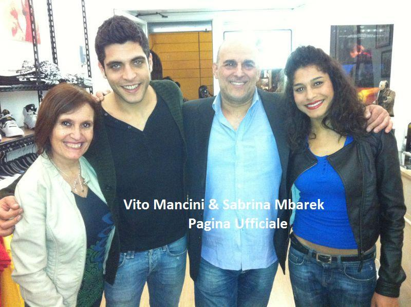 Sabrina Mbarek e Vito Mancini