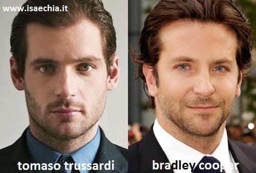 Somiglianza tra Tomaso Trussardi e Bradley Cooper