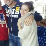 Angela Semerano e Ruben Mendes