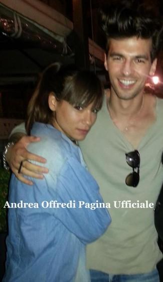 Claudia D'Agostino ed Andrea Offredi
