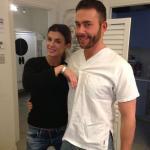 Elisabetta Canalis e Giacomo Urtis