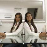 Serena Enardu ed Elga Enardu
