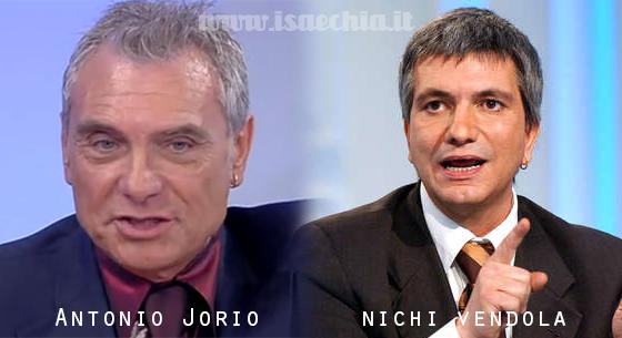 Somiglianza tra Antonio Jorio e Nichi Vendola