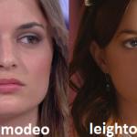 Somiglianza tra Ramona Amodeo e Leighton Meester