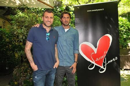 Sweet Years 10 Anniversary - Bobo Vieri e Paolo Maldini