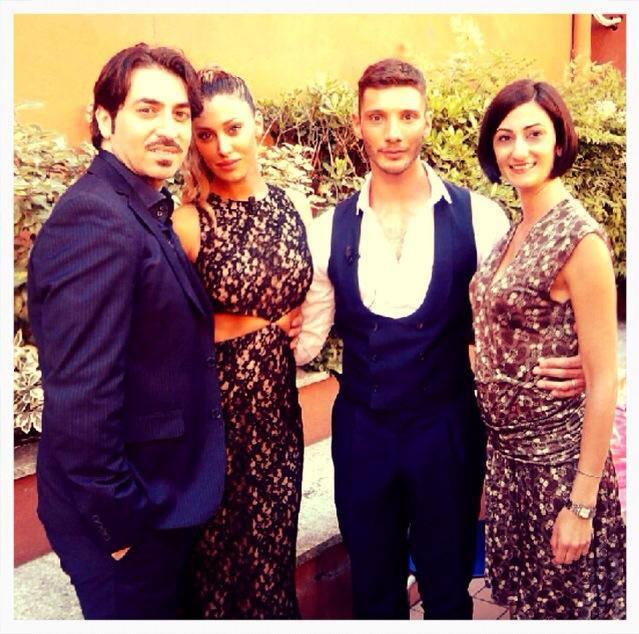 Belen Rodriguez, Stefano De Martino e Santiago: nuove foto ...