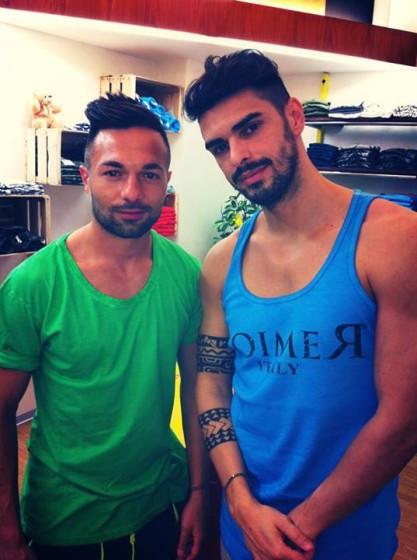 Cristian Gallella e Gigi
