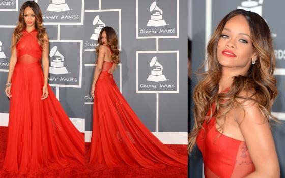 Grammy Awards 2013 - Rihanna