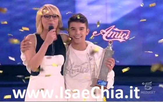 Moreno Donadoni vince Amici