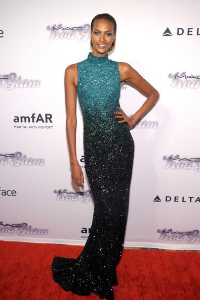 amfAR Inspiration Gala New York 2013 - Yasmin Warsame