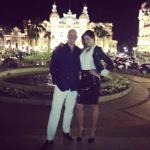 Aida Yespica e Roger Jenkins