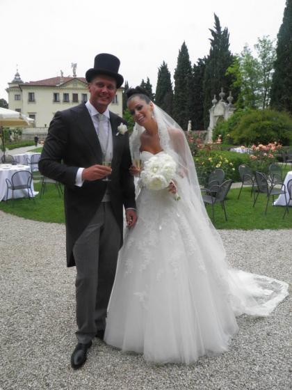 Matrimonio In Italiano : Andrea busatta e valentina borso le foto del loro
