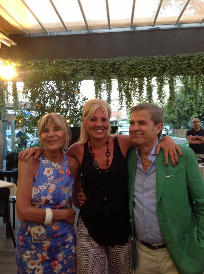 Auguri Matrimonio Non Presenti : Antonella bravi e tony de leonardis festeggiano il primo