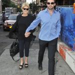 Hugh Jackman e moglie