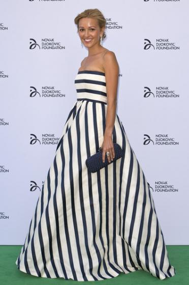 Novak Djokovic Foundation Dinner 2013 - Jelena Ristic