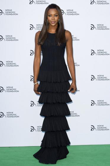 Novak Djokovic Foundation Dinner 2013 - Naomi Campbell