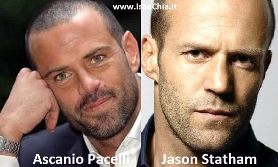 Somiglianza tra Ascanio Pacelli e Jason Statham