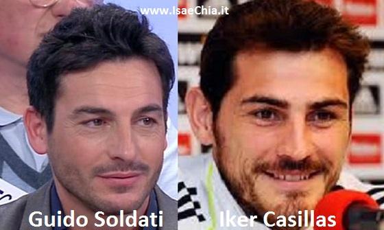 Somiglianza tra Guido Soldati e Iker Casillas