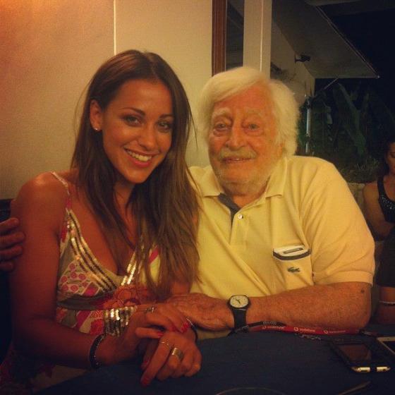 Teresanna Pugliese e Carlo Croccolo