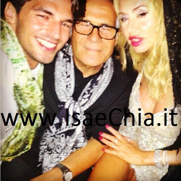 Andrea Offredi, Carlo Pignatelli e Valeria Marini