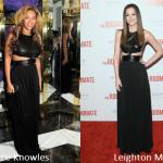 Beyoncé Knowles e Leighton Meester in Michael Kors