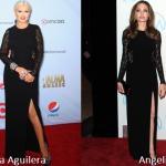 Christina Aguilera e Angelina Jolie in Michael Kors