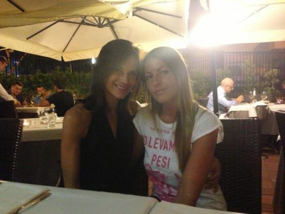 Eliana Michelazzo e Linda Collini