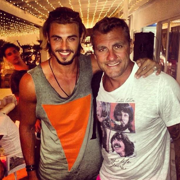 Francesco Monte e Bobo Vieri