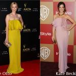 Grace Otto e Kate Beckinsale in Gucci