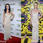 Katy Perry e Ashlee Simpson in Temperley London